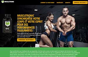 Muscletronic website in French