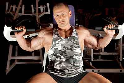 homme en gym