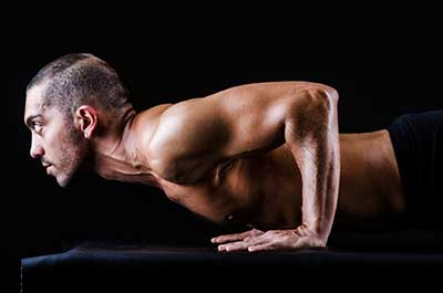 homme pushup